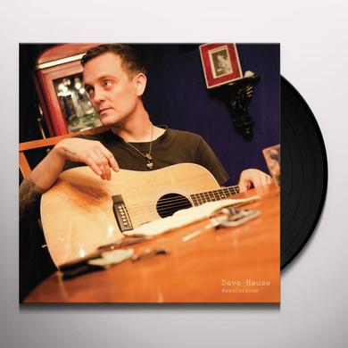 Dave Hause RESOLUTIONS (BONUS CD) Vinyl Record