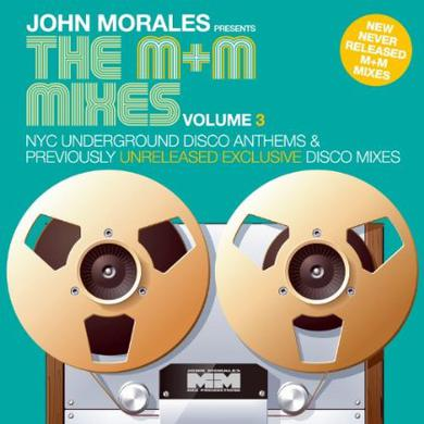 John Morales M & M MIXES 3 - PART A Vinyl Record