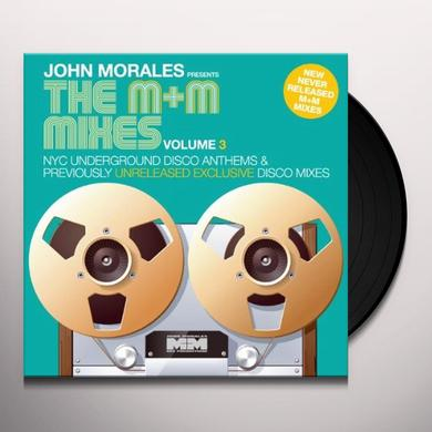 John Morales M & M MIXES 3 - PART A Vinyl Record