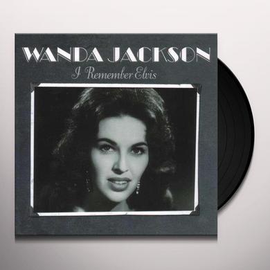 Wanda Jackson REMEMBER ELVIS Vinyl Record - Reissue