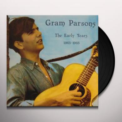 Gram Parsons EARLY YEARS 1963 - 1965 Vinyl Record - Reissue