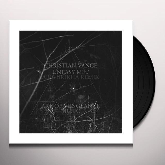 Christian Vance UNEASY ME Vinyl Record