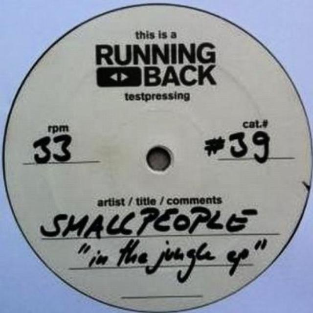 Smallpeople IN THE JUNGLE (EP) Vinyl Record