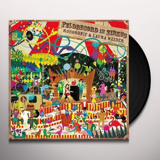 Robosonic & Laura Weider FELDRECORD IM ZIRKUS Vinyl Record