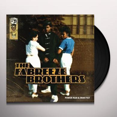 Fabreeze Brothers POWER MAN / IRON FIST Vinyl Record