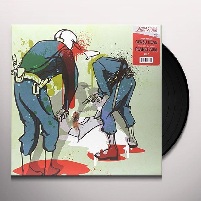 Gensu Dean & Planet Asia ABRASIONS Vinyl Record
