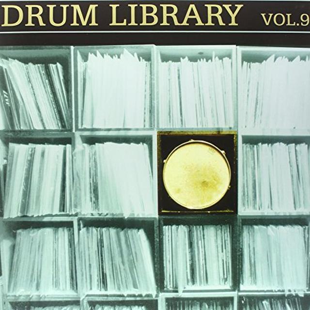 Paul Nice DRUM LIBRARY 9 Vinyl Record