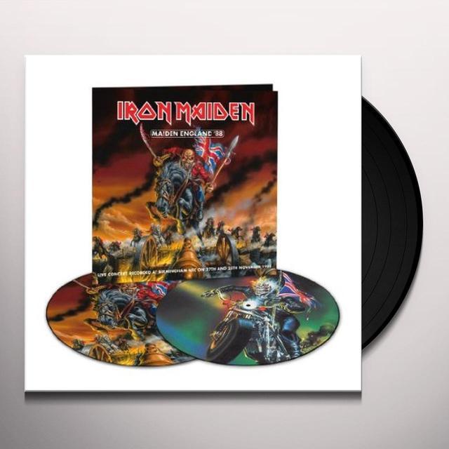 Iron Maiden MAIDEN ENGLAND Vinyl Record