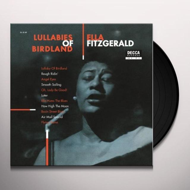 Ella Fitzgerald LULLABIES OF BIRDLAND Vinyl Record