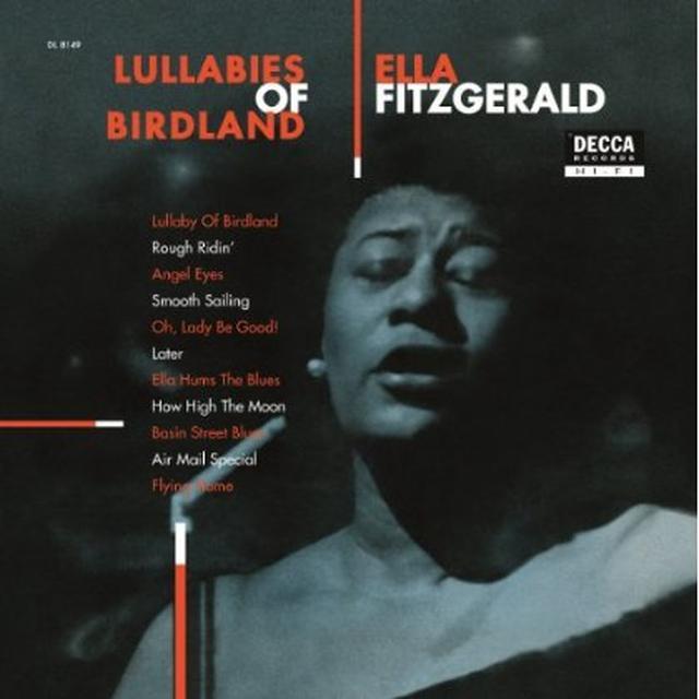 Ella Fitzgerald LULLABIES OF BIRDLAND Vinyl Record - 180 Gram Pressing
