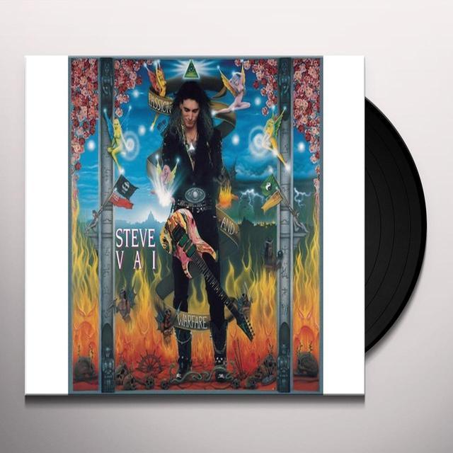 Steve Vai PASSION & WARFARE Vinyl Record - 180 Gram Pressing