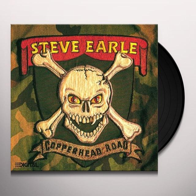 Steve Earle COPPERHEAD ROAD Vinyl Record - Holland Release