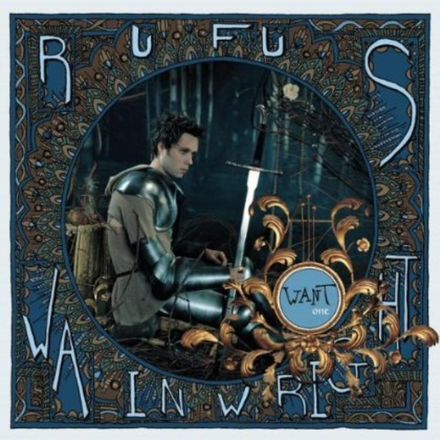 Rufus Wainwright WANT ONE Vinyl Record - Holland Release