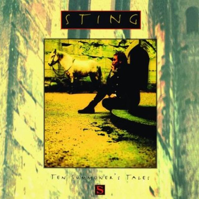Sting TEN SUMMONER'S TALES Vinyl Record