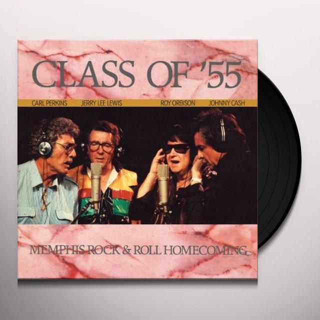 Cash / Lewis / Orbison / Perkins CLASS OF 55 Vinyl Record - UK Release