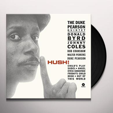 Duke Pearson HUSH (BONUS TRACK) Vinyl Record - 180 Gram Pressing