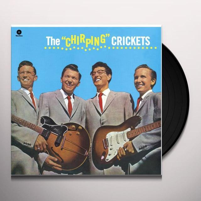 Buddy / Crickets Holly CHIRPING CRICKETS (BONUS TRACK) Vinyl Record - 180 Gram Pressing
