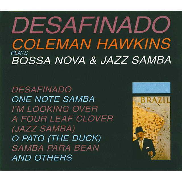 Coleman Hawkins DESAFINADO (BONUS TRACK) Vinyl Record - 180 Gram Pressing