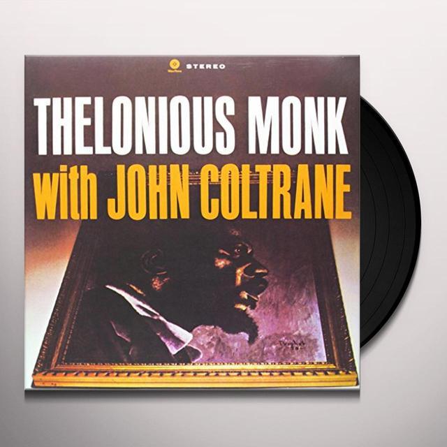 Thelonious Monk & John Coltrane THELONIOUS MONK WITH JOHN COLTRANE (BONUS TRACK) Vinyl Record