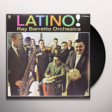 Ray Barretto LATINO (BONUS TRACK) Vinyl Record - 180 Gram Pressing