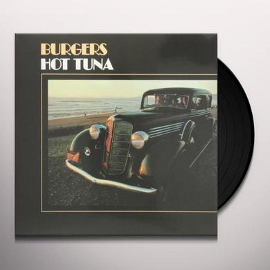 Hot Tuna BURGERS Vinyl Record - 180 Gram Pressing