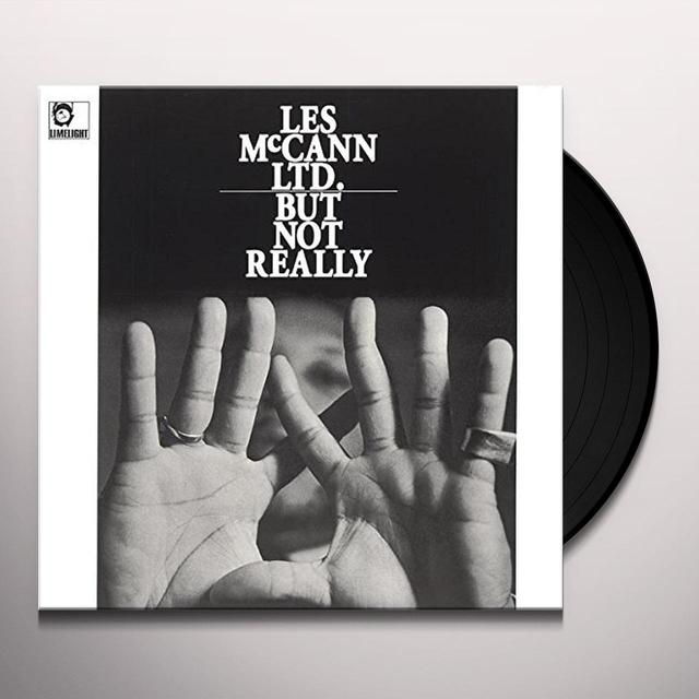 LES MCCANN LTD BUT NOT REALLY Vinyl Record