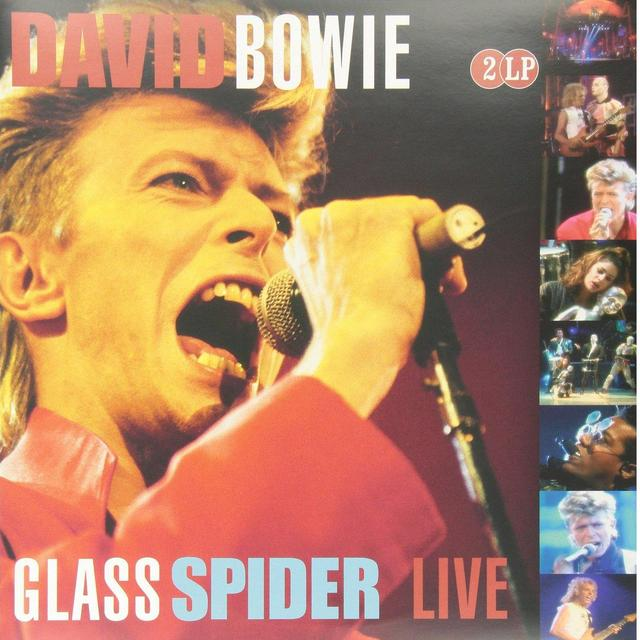 David Bowie GLASS SPIDER LIVE Vinyl Record - Holland Import