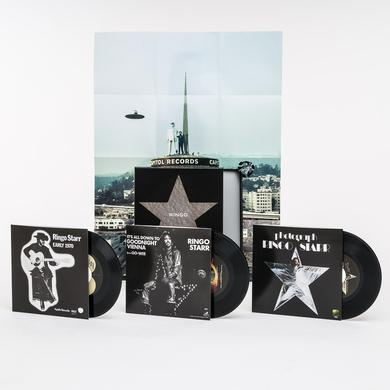 Ringo Starr 45 RPM SINGLES BOX Vinyl Record