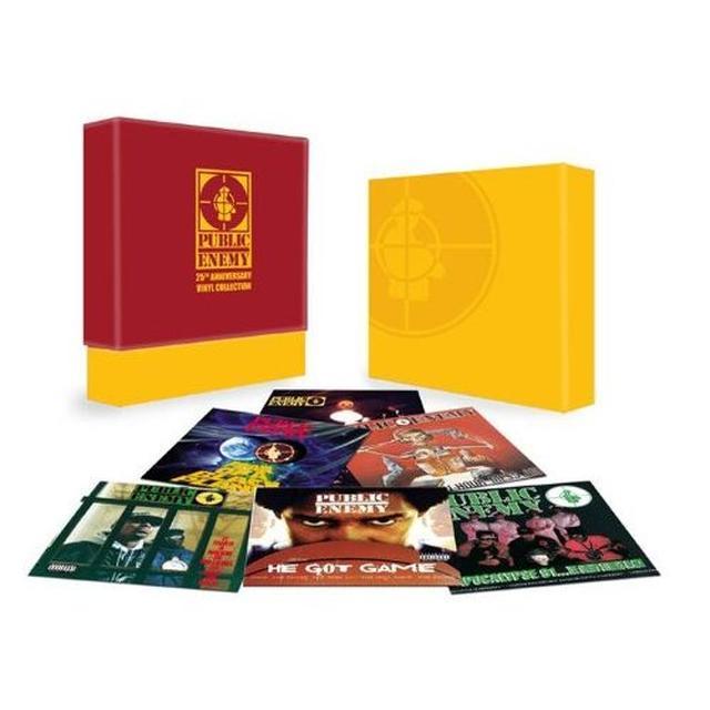Public Enemy 25TH ANNIVERSARY VINYL COLLECTION Vinyl Record
