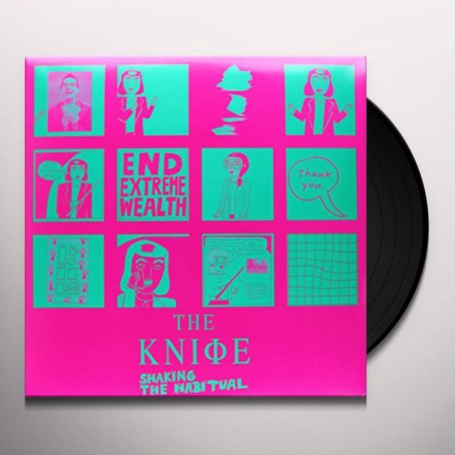 Knife SHAKING THE HABITUAL Vinyl Record