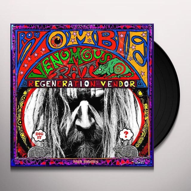 Rob Zombie VENOMOUS RAT REGENERATION VENDOR Vinyl Record