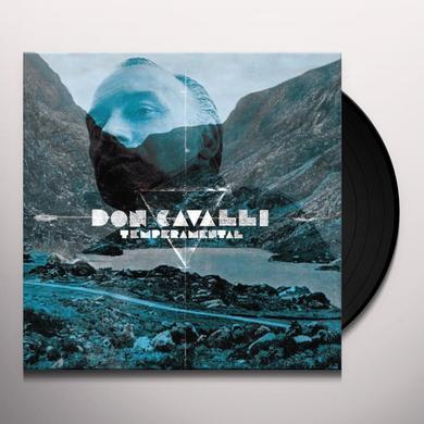 Don Cavalli TEMPERAMENTAL Vinyl Record - w/CD