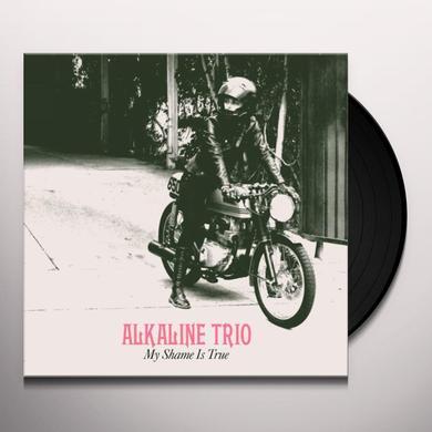 Alkaline Trio MY SHAME IS TRUE (BONUS CD) Vinyl Record