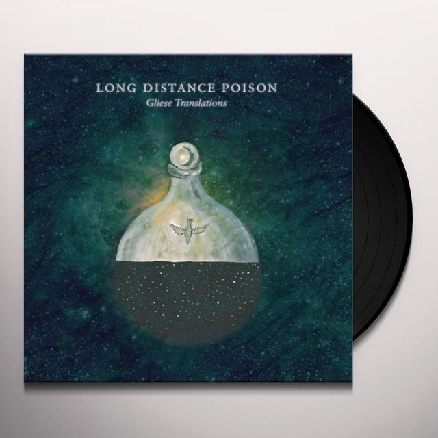 Long Distance Poison GLIESE TRANSLATIONS (W/DVD) Vinyl Record