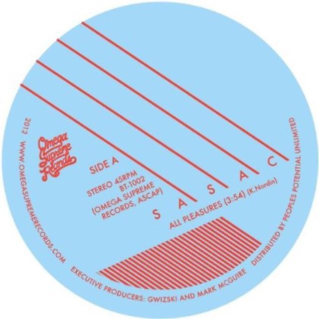 Sasac ALL PLEASURES / GARDEN SOUNDS Vinyl Record