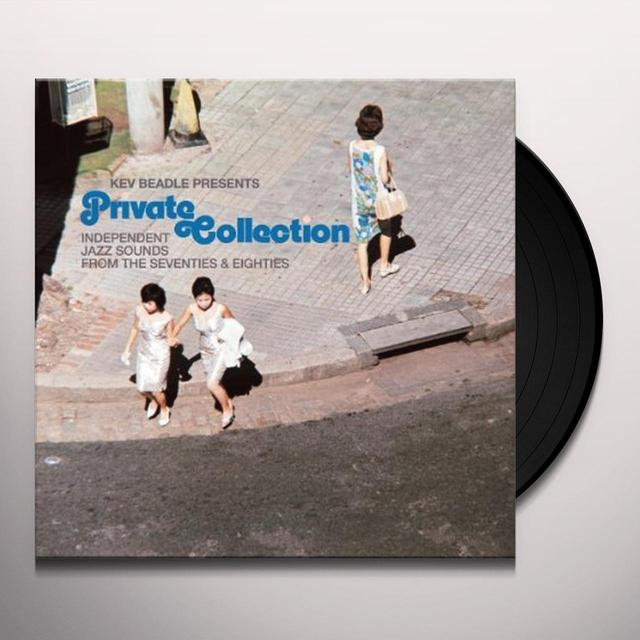 Kev Beadle PRIVATE COLLECTION INDEPENDENT JAZZ SOUNDS FROM Vinyl Record