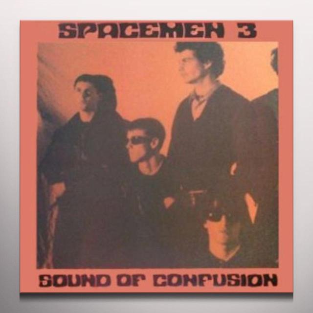 Spacemen 3 SOUND OF CONFUSION Vinyl Record - 180 Gram Pressing, White Vinyl