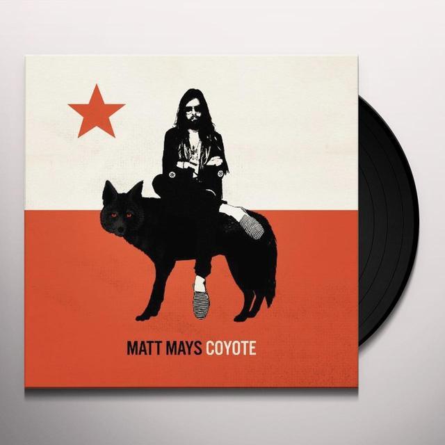 Matt Mays COYOTE Vinyl Record - w/CD