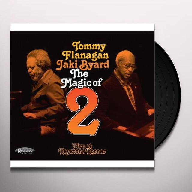 Tommy Flanagan / Jaki Byard MAGIC OF 2: LIVE AT KEYSTONE KORNER Vinyl Record