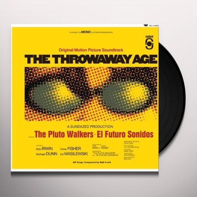 Bob Irwin & The Pluto Walkers THROWAWAY AGE Vinyl Record