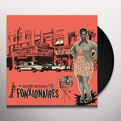 Brandy Butler & The Fonxionaires DON'T WANT NOTHIN Vinyl Record - UK Import