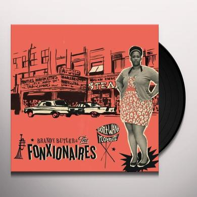 Brandy Butler & The Fonxionaires DON'T WANT NOTHIN Vinyl Record