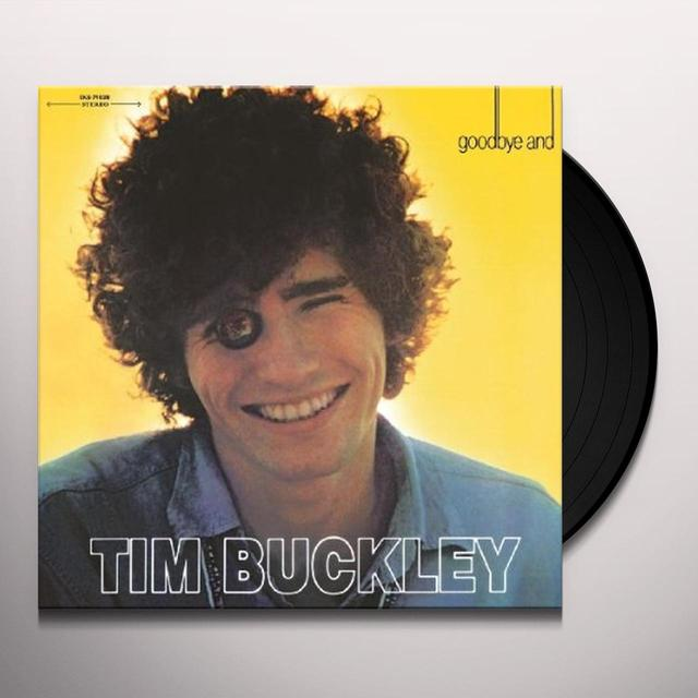 Tim Buckley GOODBYE & HELLO Vinyl Record - Holland Release