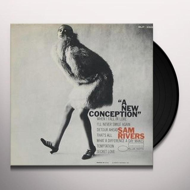 Sam Rivers NEW CONCEPTION (Vinyl)