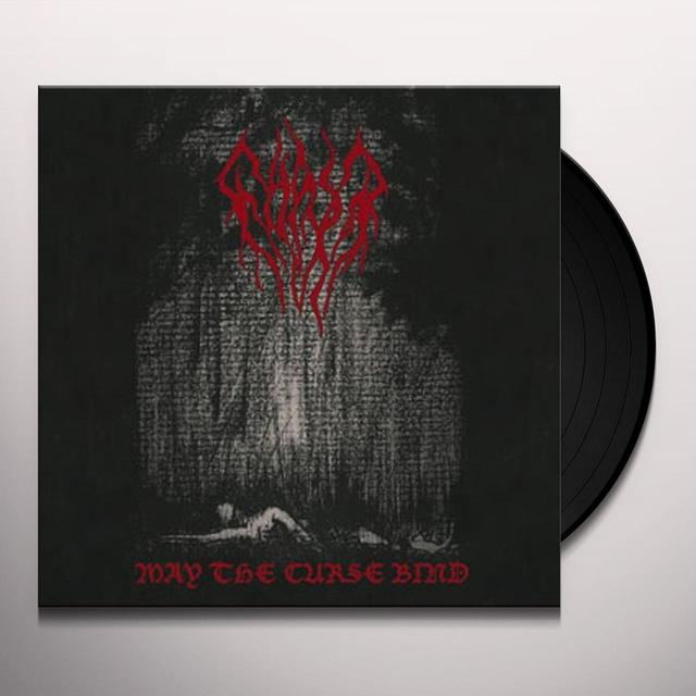 Ghast MAY THE CURSE BIND Vinyl Record