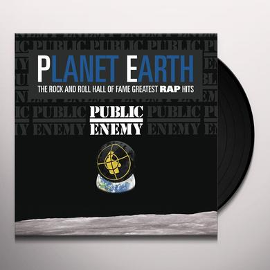 Public Enemy PLANET EARTH: ROCK & ROLL HALL OF FAME GREATEST Vinyl Record