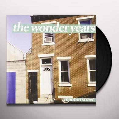 Wonder Years MANTON STREET (ORANGE) Vinyl Record