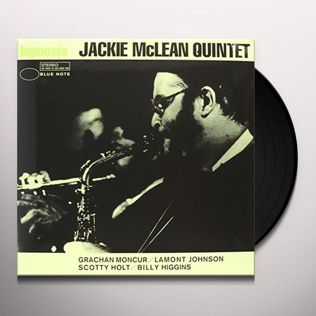 Jackie Mclean HIPNOSIS Vinyl Record - 180 Gram Pressing, Deluxe Edition