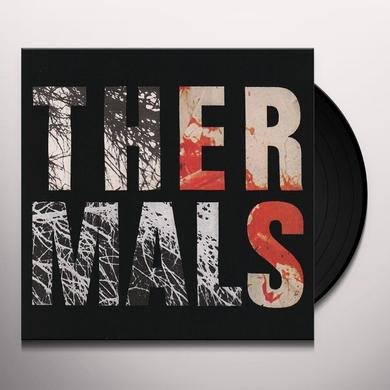 The Thermals DESPERATE GROUND Vinyl Record - 180 Gram Pressing, MP3 Download Included