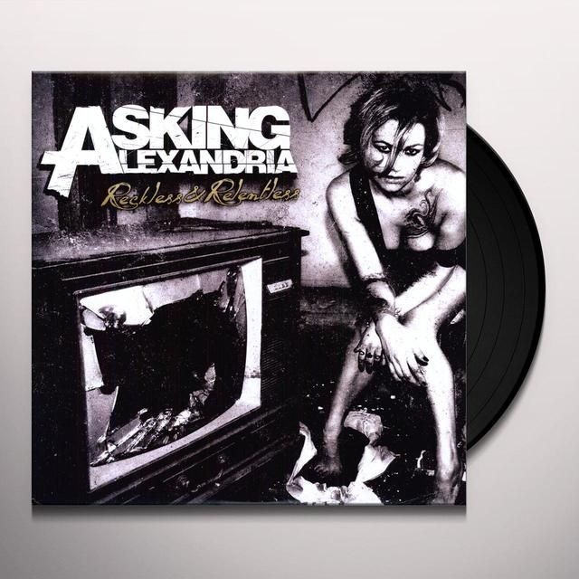Asking Alexandria RECKLESS & RELENTLESS Vinyl Record